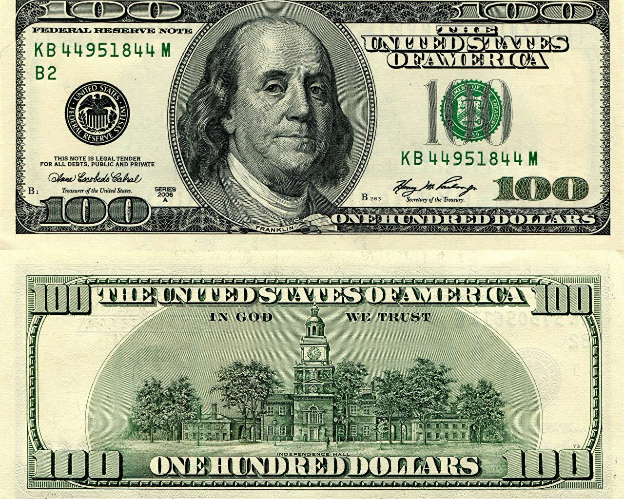 cem dolares atual